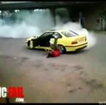 Drifting lepszy od kierowcy!