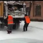 Rosyjscy śmieciarze tęsknią za zimą