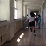 Japońska dziewczynka w wersji ninja