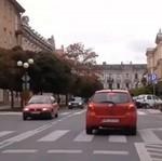 Omijanie na przejściu dla pieszych - RADOM