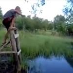 Tarzan zalany w trupa