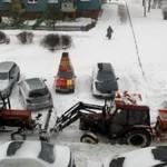 Przepychanka pługów śnieżnych