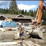 Karuzela na budowie