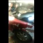 Zdejmowanie szpachli z Nissana 200sx s13