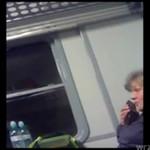 Polska baba GADA PRZEZ TELEFON! HA HA HA!
