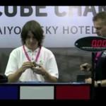 POLAK wygrał zawody w układaniu kostki Rubika!