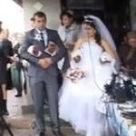 Gruba rozwałka na ruskim weselu