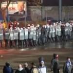 Kibole starli się z policją (Chorzów)