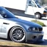 BMW - wypadek podczas driftingu