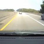 Jak dachować na autostradzie... parami?