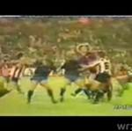 Brutalne momenty w piłce nożnej