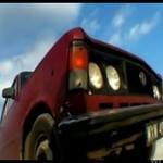 Fiat 125 na lodowisku!