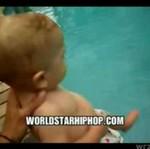 Wrzuciła BOBASA do basenu!