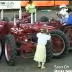 TANIEC traktorów!