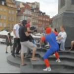 Spiderman w Warszawie