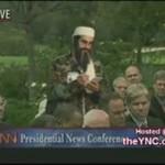 Bin Laden na wywiadzie z Bushem
