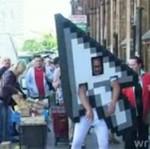 Człowiek - Kursor wyznaje miłość na ulicy!!!