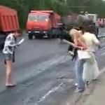 Asfalt w Rosji - gorszy niż w Polsce!
