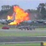Powietrzna eksplozja MIG-a