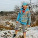 Gracjan Roztocki cieszy się z nadejścia zimy