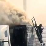 Kiepski dzień strażaka