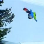 On praktycznie LATA na snowboardzie!