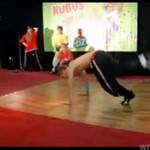 """""""Księżyc w pełni"""" na pokazie breakdance Kubusia!"""