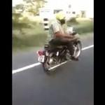 Zwyczajna przejażdżka w Indiach