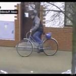 Złodziej na rowerze - NIE MIAŁ SZANS!