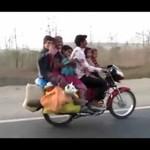 Motocykl - wersja rodzinna