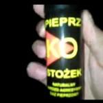 Kaskader kontra gaz pieprzowy - KOSZMAR!