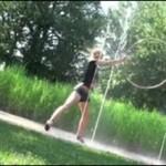 Dziewczyna z hula-hop