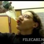 Wypił PÓŁ LITRA wódki na przerwie! (ROSJA)