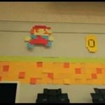 """Karteczkowy """"Super Mario"""""""