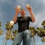 Żongler na GoPro