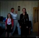 Ojciec nagrał kamerkę z córkami!