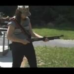 Broń z MEGA odrzutem!