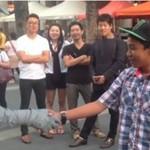 Zaczepianie ulicznego mima - LEVEL HARD!