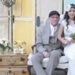 Nieuleczalnie chory ojciec przeżył ślub swojej córeczki!