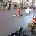 Mariusz Goli improwizuje na ulicach Krakowa