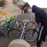 Pomysłowy złodziej rowerów