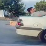 Skok przez auto - ten będzie go słono kosztował!
