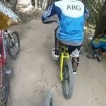 Tego nie spodziewał się żaden rowerzysta