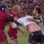 Najmocniejsze ciosy w rugby