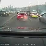 Zimowe wypadki samochodowe - MOCNE!