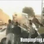 Zaatakowali przejeżdżający samochód