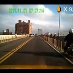 "Motocyklista jak z ""Super Mario"""
