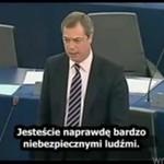 Nigel Farage o rozpadającej sie Unii Europejskiej