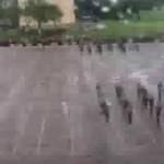 Podczas parady rozjechali żołnierza!