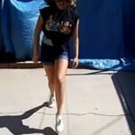 Dziewczyny tańczą shuffle